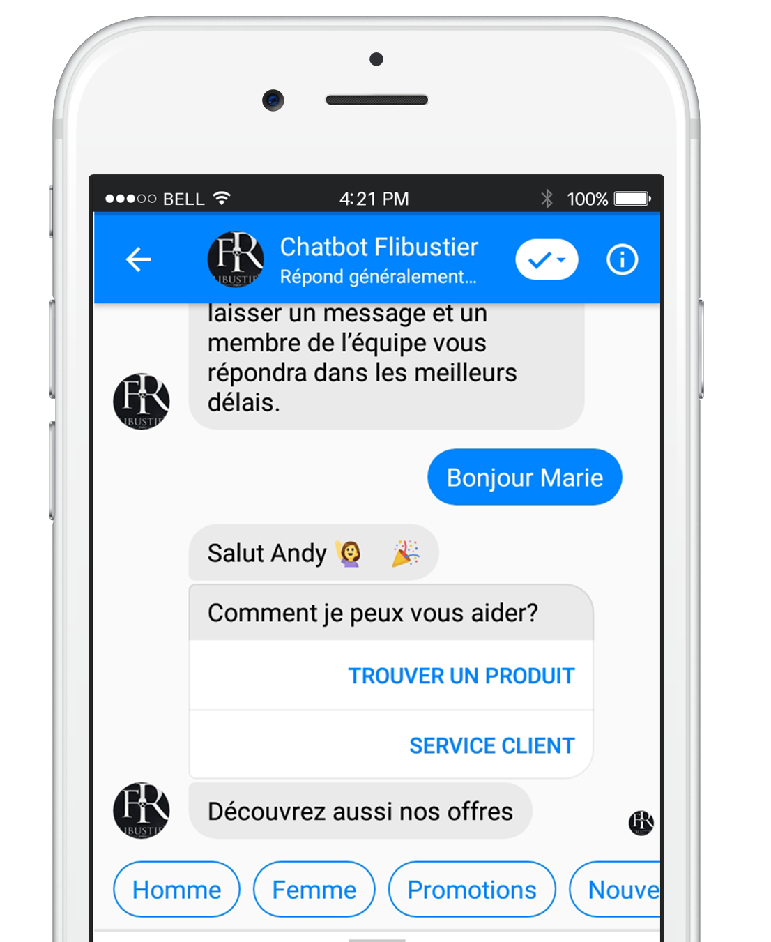 LES CONTACTS DE VOTRE PAGE FACEBOOK